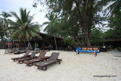 Redang Pelangi Resort Front